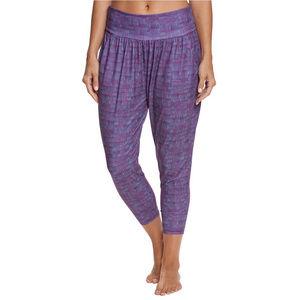 prAna Ryley Crop Pants Yoga, Sangria Asana size S